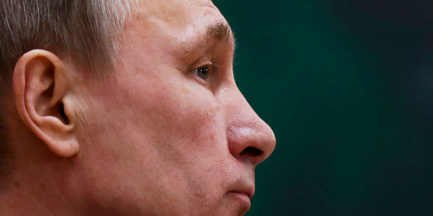 When we woke on Tuesday to the news Putin had decided to start withdrawing his forces from Syria immediately, he stunned the world. Photo / AP