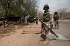 Nigerian soldiers man a checkpoint. Photo / AP
