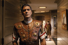 George Clooney portrays Baird Whitlock in Hail, Caesar! a new comedy from filmmakers Joel and Ethan Coen.