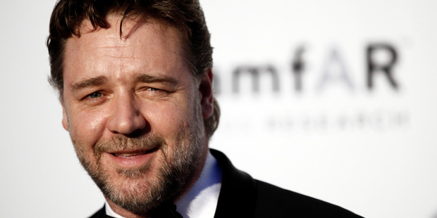 Loading Actor Russell Crowe. Photo / AP