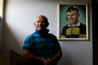 Neil Wolfe, dementia sufferer and former All Black. Photo / Brett Phibbs