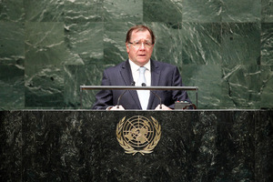 Foreign Minister Murray McCully says the viability of a two-state solution is disappearing because of Israel's settlement activity. Photo / Supplied