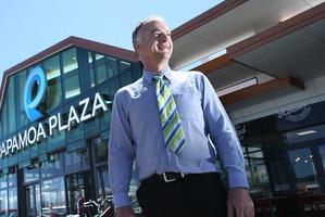Papamoa Plaza centre manager David Hill.
