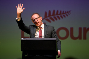 Labour Party leader Andrew Little would take a hard line with banks who do not pass on interest rate savings to customers. Photo / Mark Mitchell