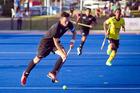 Hockey international Black Sticks v Malaysia.