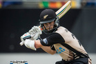 Kane Williamson in action for the Black Caps. Photo / Jason Oxen