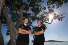 Five double-handed crews named in the opening Olympic sailing selections, Men's 470 crew (L-R) Daniel Willcox and Paul Snow-Hansen. Photo / Brett Phibbs.