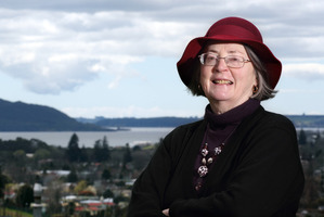 Rotorua Multicultural Council vice president Dr Margriet Theron.