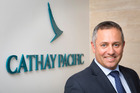 Mark Pirihi, country manager for Cathay Pacific in New Zealand Photo / Bruce Jarvis