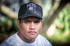 Teina Pora says James Rolleston could play him in a possible film. Photo / Michael Craig