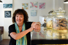 Owner of The Dry Dock Cafe Sandra Johnson thinks Tauranga city centre needs a change. Photo/George Novak