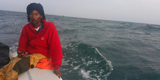 Sarra's friend Ali Ahmed Ali died in the boat accident on the African coast. Photo / Supplied