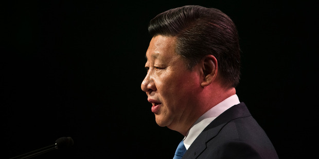 """The """"collective leadership"""" of recent decades has become a fiction, and Xi's personality cult is being vigorously promoted in the state-controlled media. Photo / Greg Bowker"""