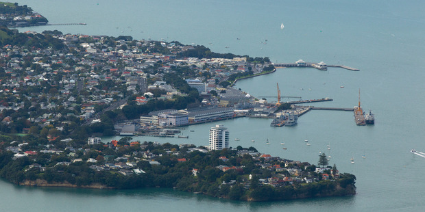 Stanley Point, RNZN Devonport Naval Base. Photo / Brett Phibbs