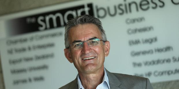 Tauranga Chamber of Commerce CEO Stan Gregec.