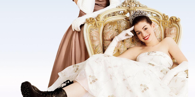 Anne Hathaway wants to star in a third installment of fairy-tale family movie The Princess Diaries. Photo / Supplied