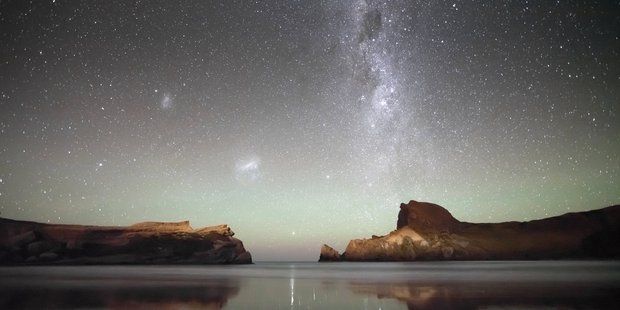 Our own Milky Way galaxy must be as large and ancient as it is because we are the product of a supernova explosion in which the heavy elements necessary for life were first formed. Photo / Mark Gee