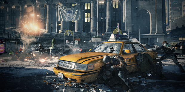 A scene from Tom Clancy's The Division.