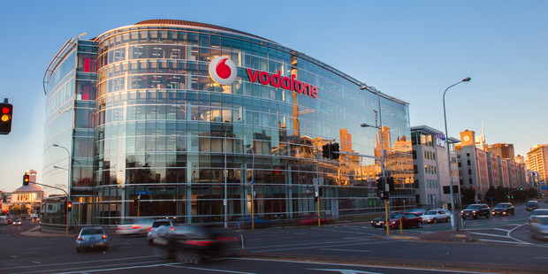 Rumours are circulating Auckland Transport may move into the Vodafone building. Photo / Colleen Tunnicliff