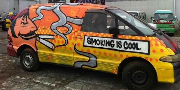 Wicked Campers say their slogans and artwork are a bit of fun and a useful business advantage. Photo / Supplied