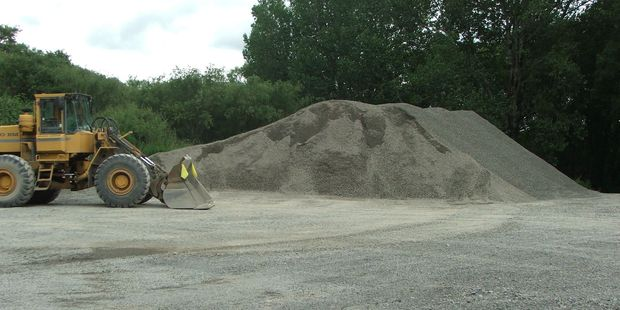 Steve Blakemore, former planning and resources manager for GWRC, says the Ruamahanga riverbed has lowered by up to 2m in places after long-term gravel extraction works by the council. PHOTO/FILE