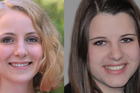 Kathrin Schmitt and Julia Mayer, both 19, died in the February 26 tragedy, described as a