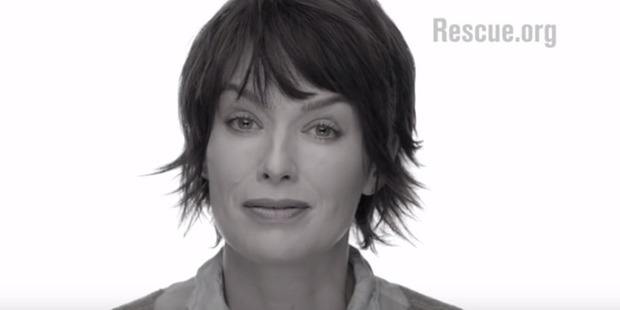 Actress Lena Heady, who plays Cersei Lannister on the TV show Game of Thrones.