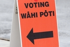 At the last election only 72 per cent of those eligible exercised their right to vote. Photo / NZME
