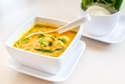 Thai yellow curry soup.