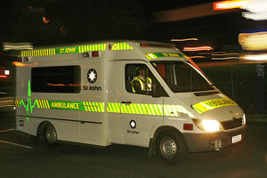 The four people were treated by ambulance staff. Photo / File