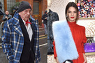 Vogue photographer David Bailey and model Kendall Jenner. Photos / Getty Images