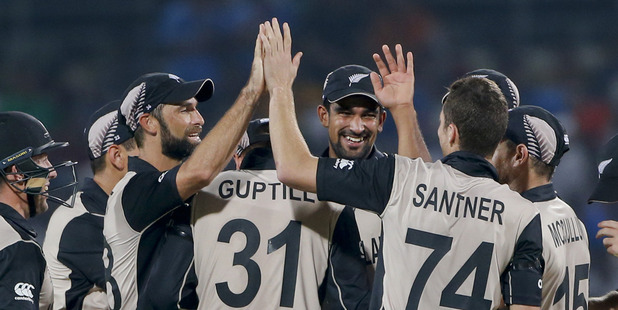 Loading The Black Caps cruised to an opening win over India. Photo / AP