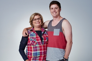 Tauranga woman Theresa Tingey and her son Josh make up half of the Wotton family on Our First Home.