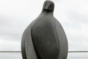 The kereru-shaped Kaitiaki Manu.