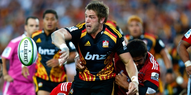 BIG-HEARTED: Bay of Plenty's Johan Bardoul will start at lock for the Chiefs against the Jaguares in Buenos Aries tomorrow morning. PHOTO/GETTY IMAGES