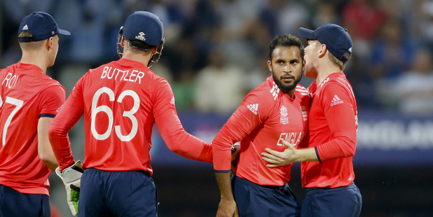 England look to bounce back after an opening defeat to the West Indies. Photo / AP