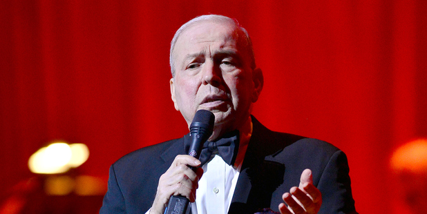 Frank Sinatra Jr. has died while on tour in the US. Photo / Getty