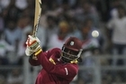 Chris Gayle has single handedly beaten England at the Twenty20 World Cup in Mumbai.  The West Indies master blaster has smashed an unbeaten century to lead his side to a six wicket win in the group one opener.  Source: Ghost Media / Youtube