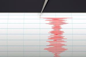 A magnitude 5 quake was followed by a magnitude 4.6 quake late last night. Photo / File