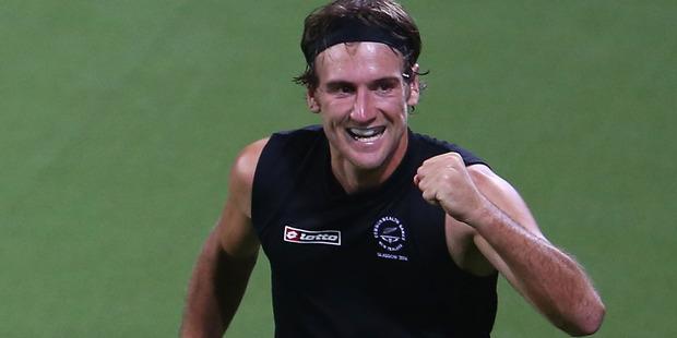 Blair Hilton helped New Zealand salvage a draw against Korea. Photo / Getty