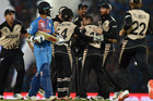 Nathan McCullum and New Zealand proved too good for India. Photo / Getty