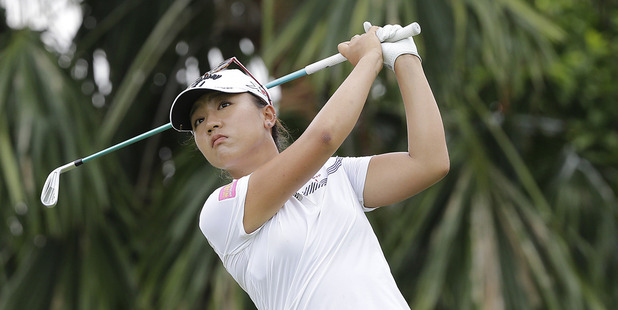 Could we see Lydia Ko team up with the likes of Jordan Spieth or Rory McIlroy in a mixed tournament? Photo / AP