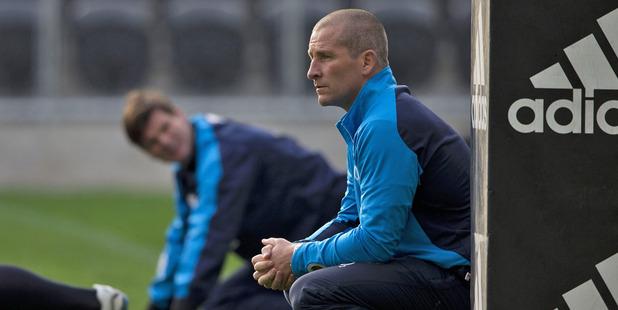 Former England coach Stuart Lancaster. Photo / Brett Phibbs