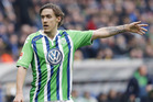 Wolfsburg's Max Kruse. Photo / AP