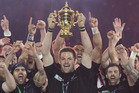 The All Blacks are double World Cup champions but that doesn't mean NZR are rolling in cash. Photo / Brett Phibbs