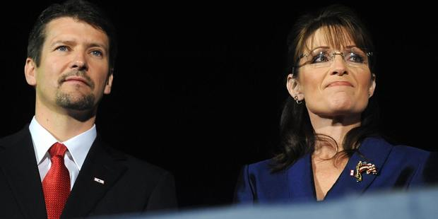 Todd Palin, husband of Sarah Palin, has been injured in a snowmobile accident. Photo / Getty Images