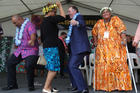 Prime Minister John Key and Minister of Pacific People's Hon Peseta Sam Lotu-Iiga was among guests today.