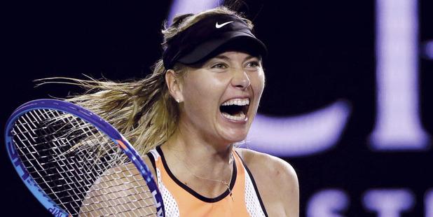 Maria Sharapova faces a long ban from tennis. Photo /AP
