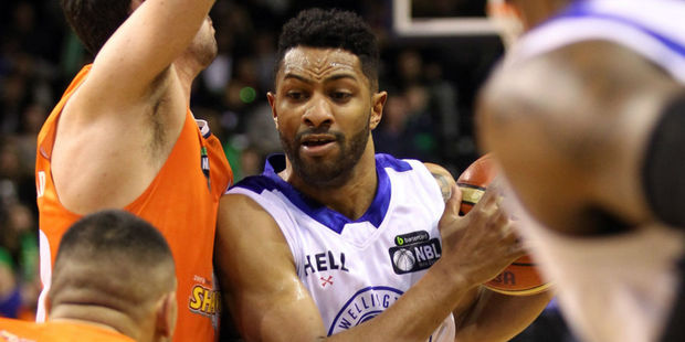 Dion Prewster from the Wellington Saints. Photo / Getty
