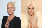 Amber Rose and Kim Kardashian West. Photos / Getty Images
